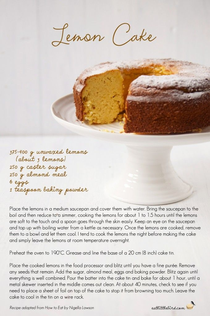 Gluten Free Lemon Cake Recipe Almond Recipes Gluten Free Lemon Cake Gluten Free Cakes