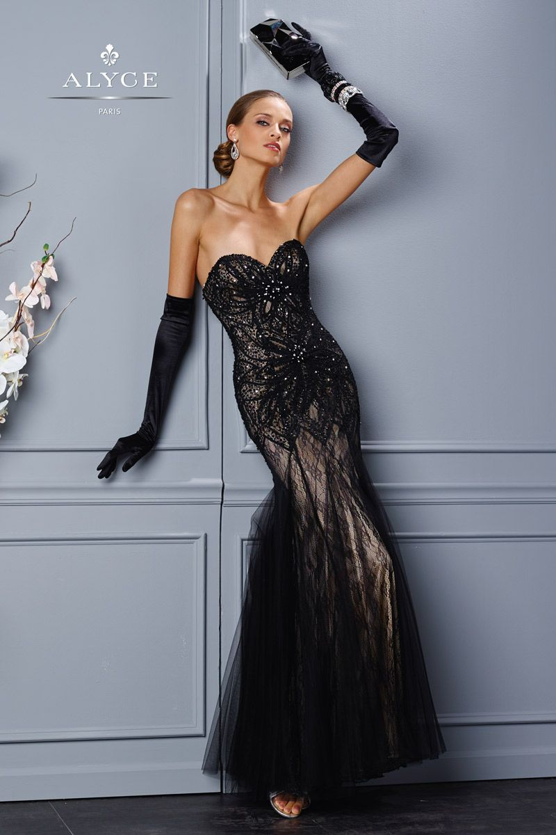 Alyce Black Label 5697 Alyce Paris Black Label Prom, Bridal ...