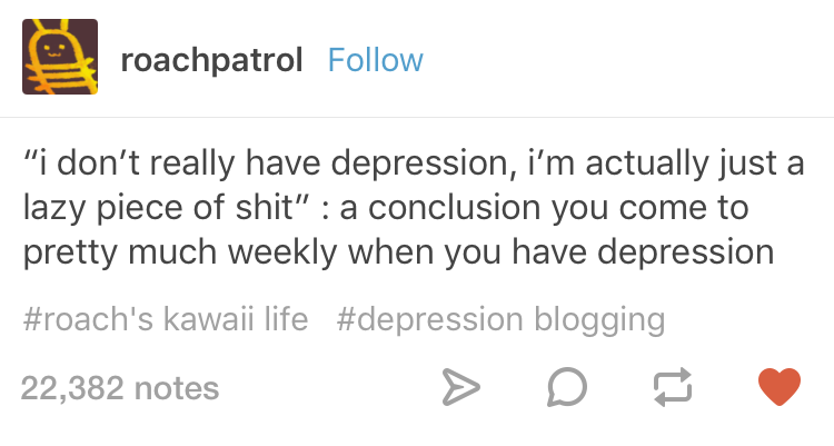 27 Tumblr Posts Youll Only Get If You Have Depression