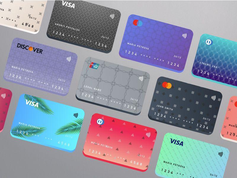 Credit Cards Symbols Kit Debit Card Design Credit Card Design Credit Card Icon