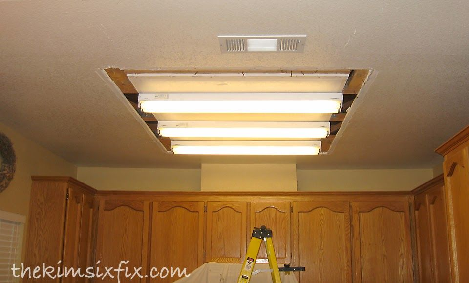 Removing A Large Fluorescent Kitchen Box Light (Flashback Friday ...