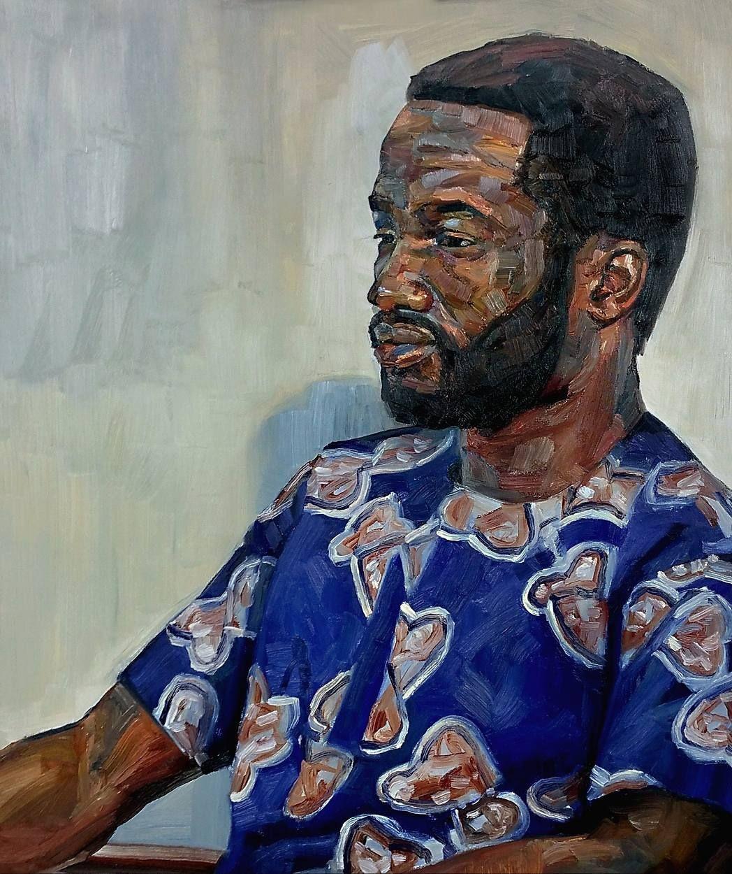 Here S The Finished Painting And Timelapse Of My Winning Portrait Of Sopedirisu From Last Nights Heat Of Sky Portraitartistoftheyear
