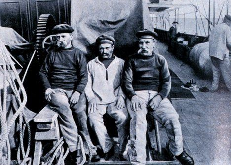 """ Three Sailors – Three Moustaches """