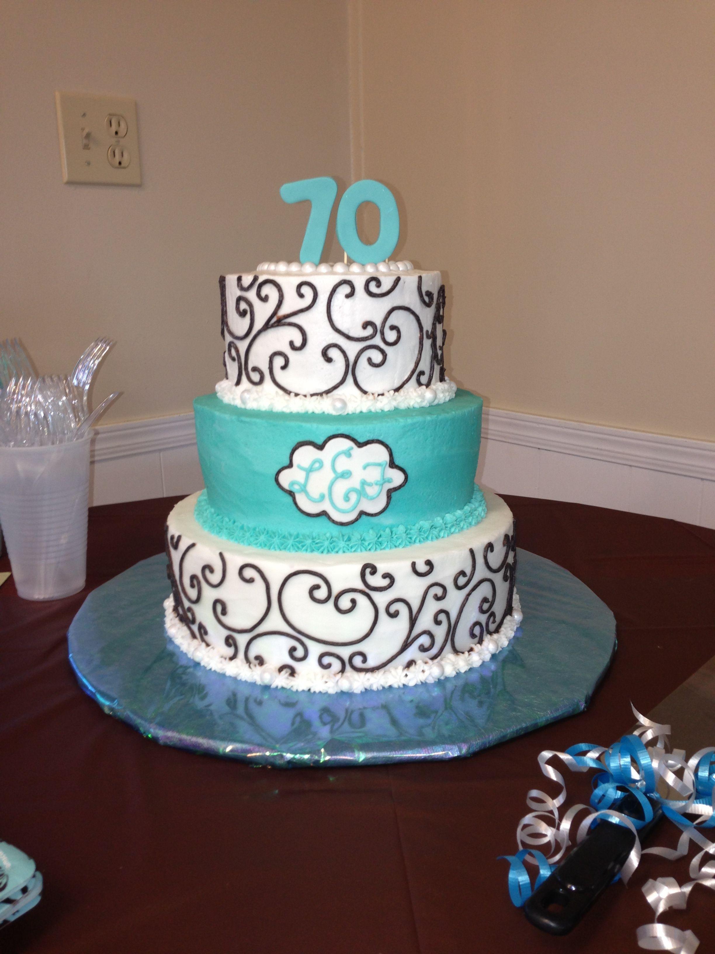 Enjoyable My Grannys 70Th Birthday Cake I Made Mallory Gray 50 Cakes Of Personalised Birthday Cards Sponlily Jamesorg