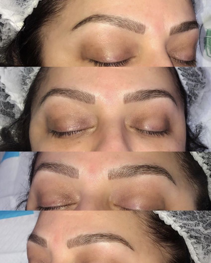 Eyebrow Microblading at U&I Spa #naturalbrows Eyebrow Microblading is a manual method that allows to recreate, correct and improve the appearance of natural brow. This procedure is ideal for both people who have natural brows and those who don't. The results are natural looking and long lasting (from 9 to 18 months). Microblading procedure is often considered a type of semi-permanent makeup, however, the procedure is different. Microblading usually takes around 2-3 hours per client, touch ups #naturalbrows