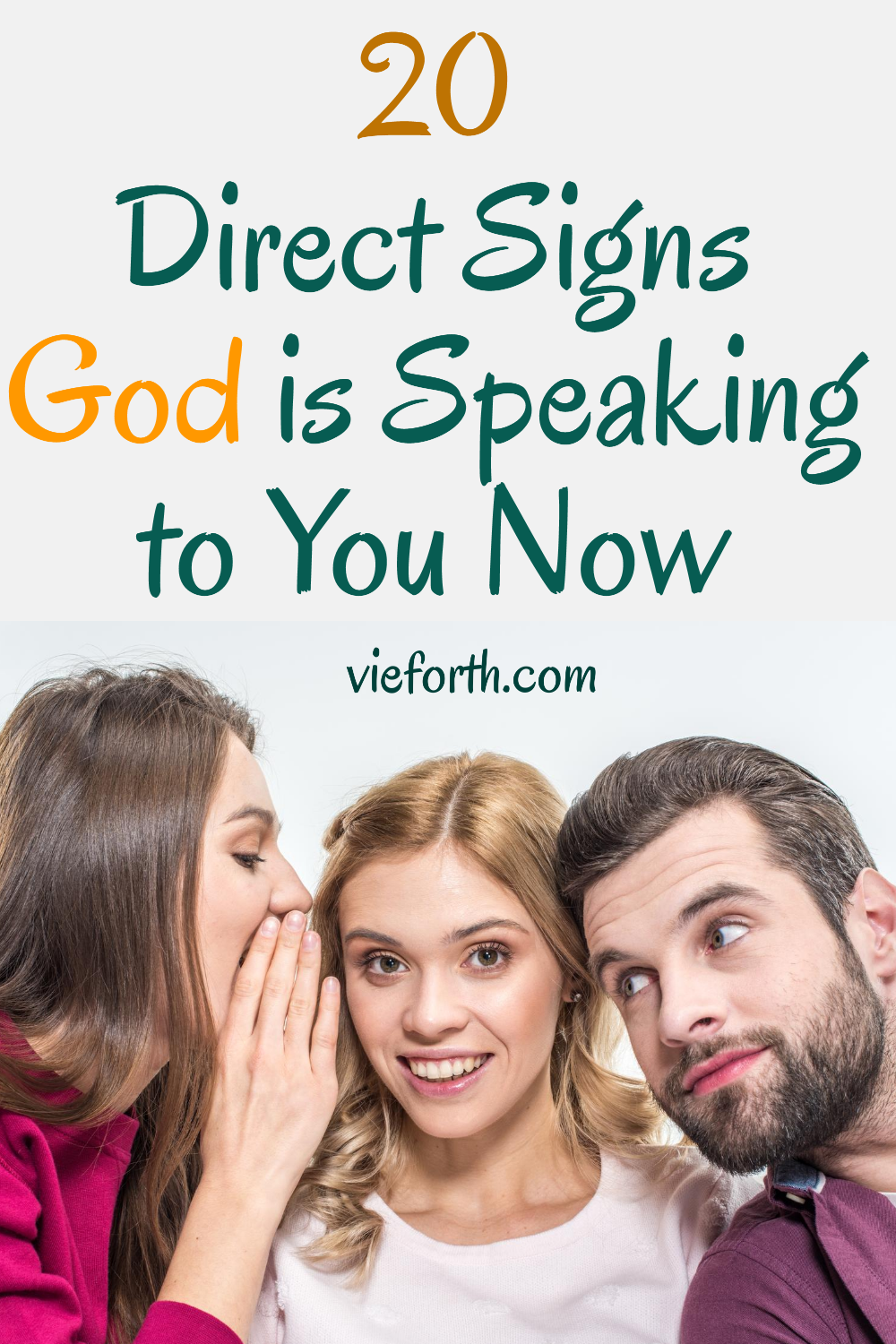 20 Direct Signs God is Speaking to You Now
