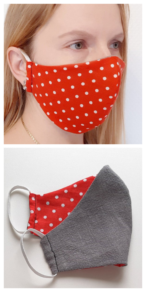 DIY Fabric Face Mask Free Sewing Patterns & Paid+ Video in