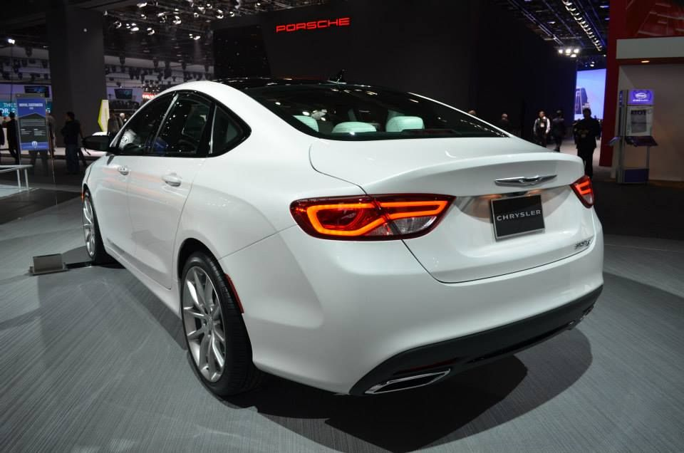 The All New 2015 Chrysler 200s Customized By Mopar With Images