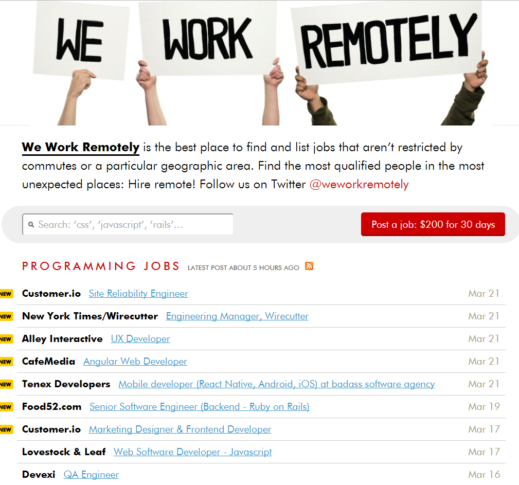 51 Freelance Websites To Find Online Jobs Start Working From Home Today Ordinary Reviews In 2020 Freelancer Website Online Jobs We Work Remotely
