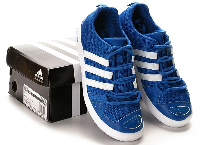 Adidas Sand Beach Blue White Women Shoes   White shoes women ...