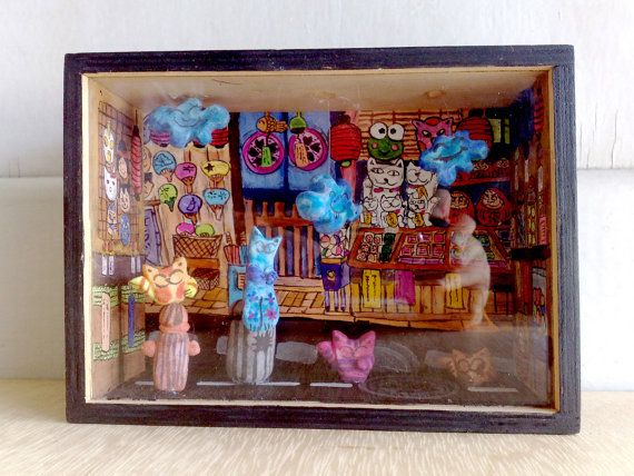 Street cats  Limited edition  by zeropumpkin on Etsy, $250.00