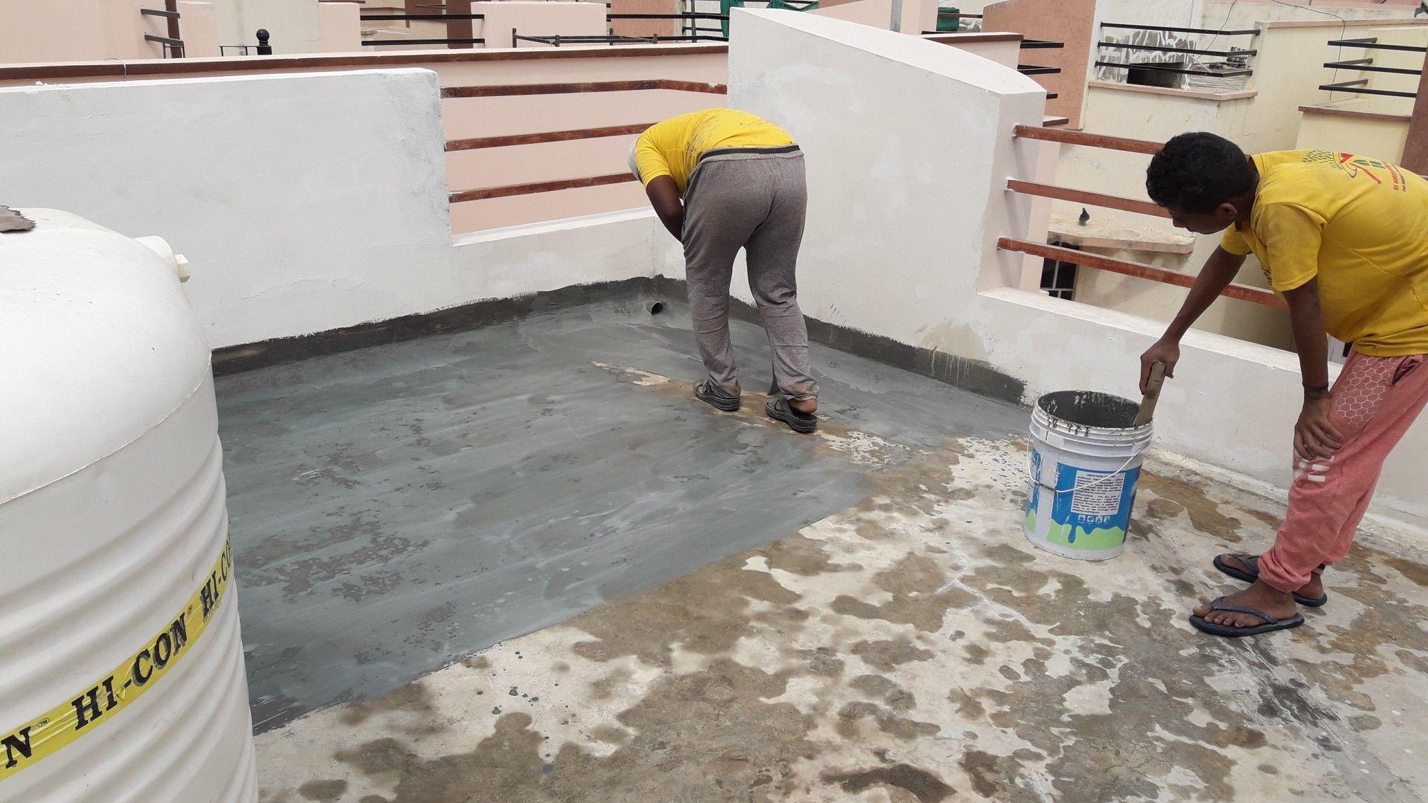 Waterproofing Contractors Https Www Sswaterproofing In Ph 9948506875 Terrace Waterproofing Water Tanks Waterpro Roof Waterproofing Old Building Water Tank