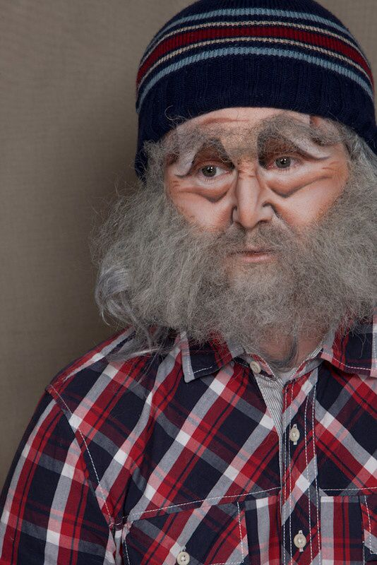 Old man Makeup | Hairstyles to try | Pinterest | Men makeup ...