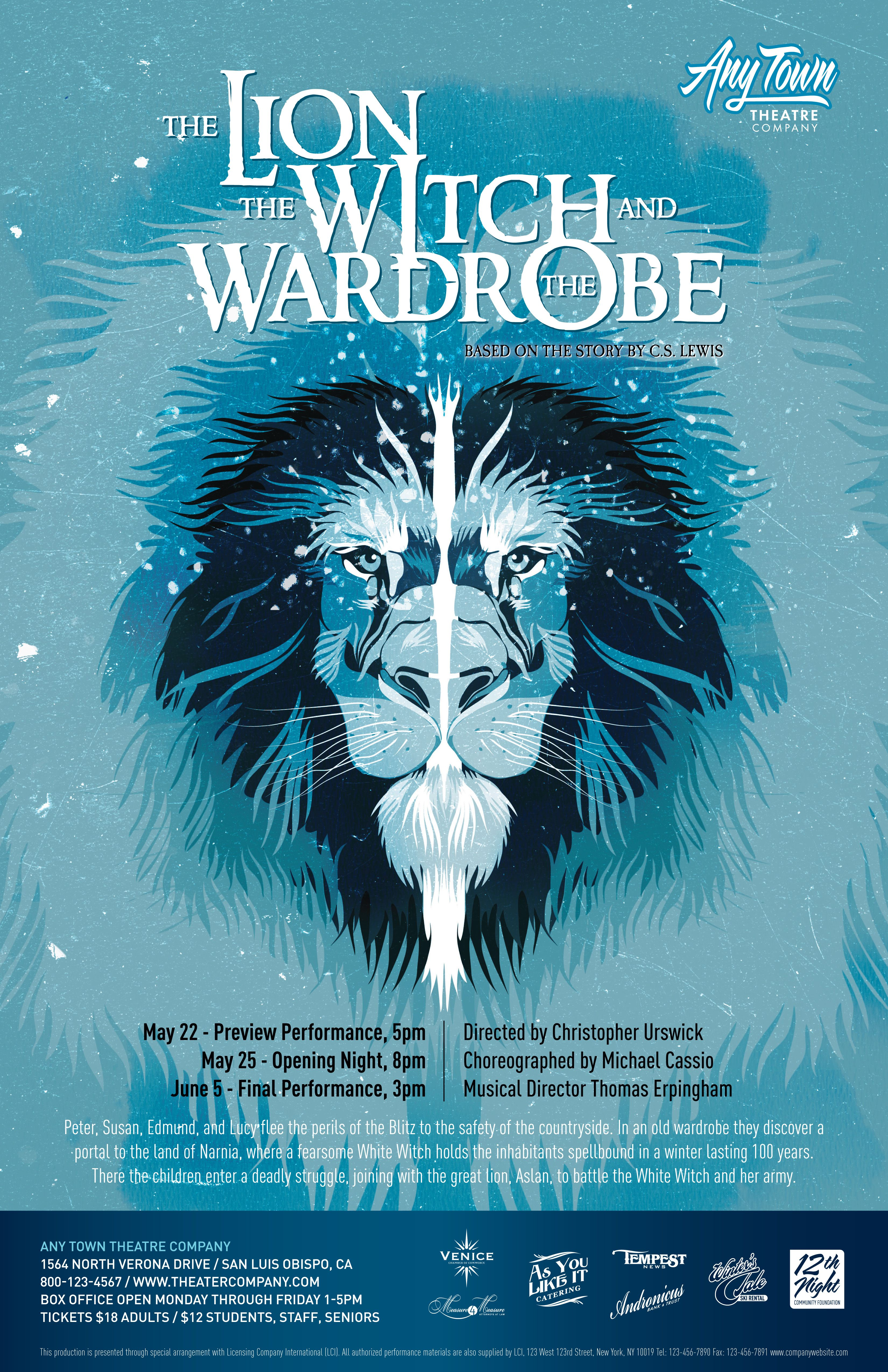 subplot studio customizable poster design the lion the witch and  subplot studio customizable poster design the lion the witch and the wardrobe