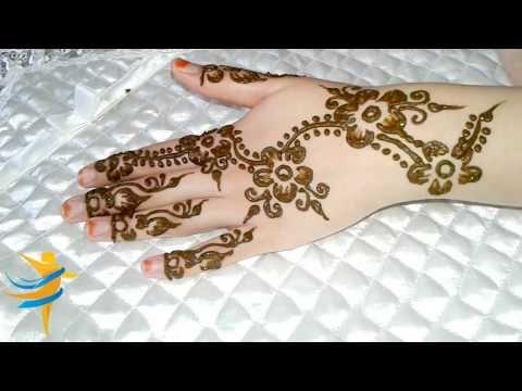 تعلم النقش بالحناء الصحراوي بكل بساطة Simple Mehndi Designs Mehndi Designs Mehndi Simple