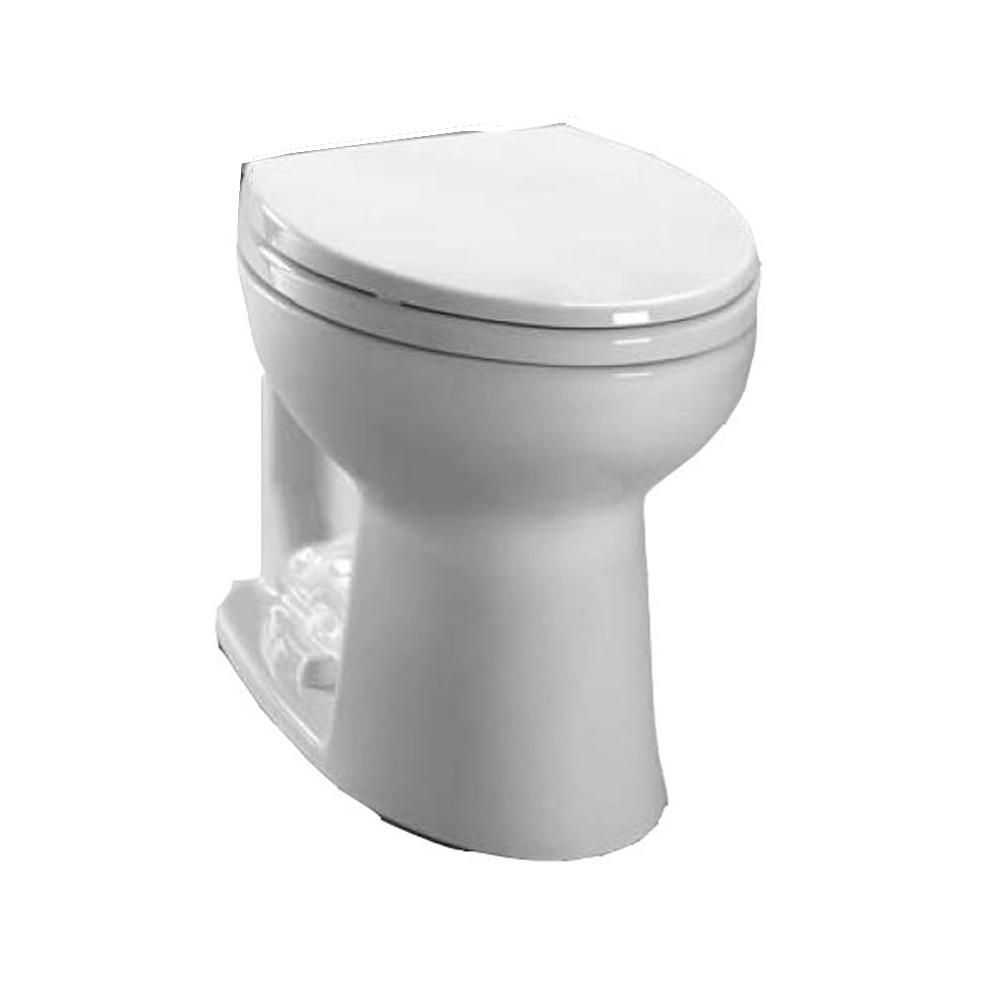 TOTO Carusoe Round Toilet Bowl Only in Cotton White | Toilet bowl ...