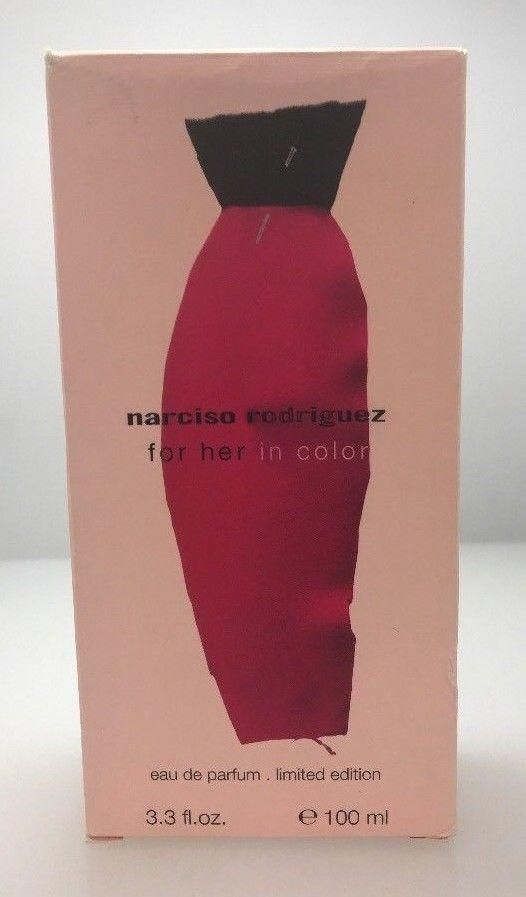 NARCISO RODRIGUEZ FOR HER IN COLOR 3.3 EDP LIMITED EDITION NO CELLOPHANE