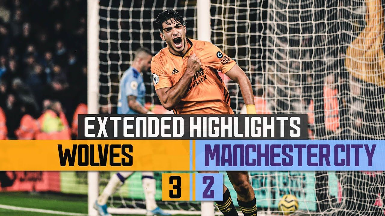 Wolves Do The Double Over The Champions Wolves 3 2 Man City Extende In 2020 Champion City Manchester City