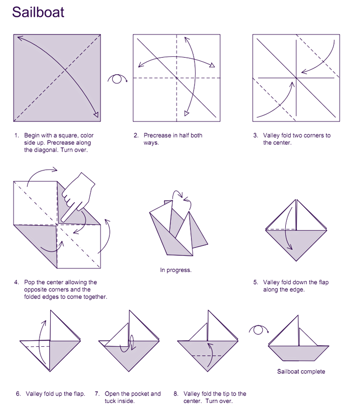 Image result for origami sailboat party final pinterest image result for origami sailboat sciox Choice Image