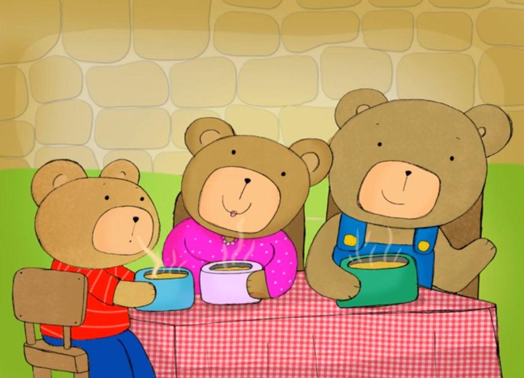 Afbeeldingsresultaat voor goudlokje en de drie beren