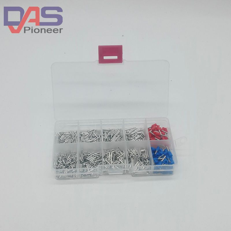 1000cs/lot mixed 8 models uninsulated end Ferrule Kit 0.5 -0.7mm Non ...