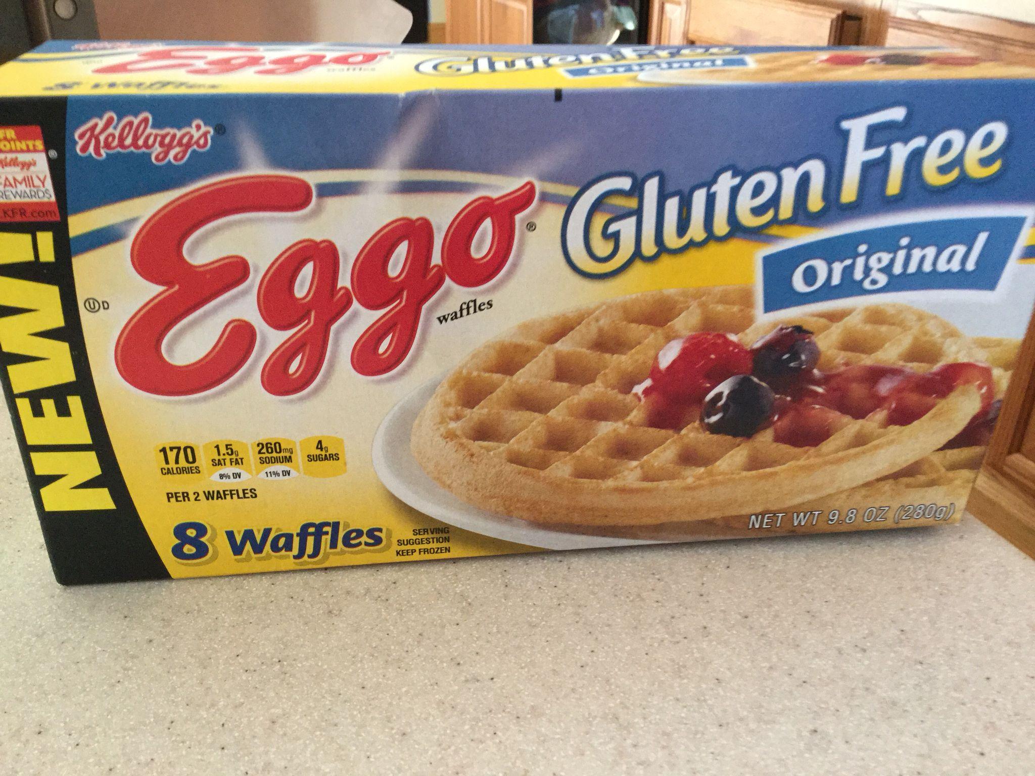 2/2015 New Eggo Gluten Feee waffles. Taste is really good ...