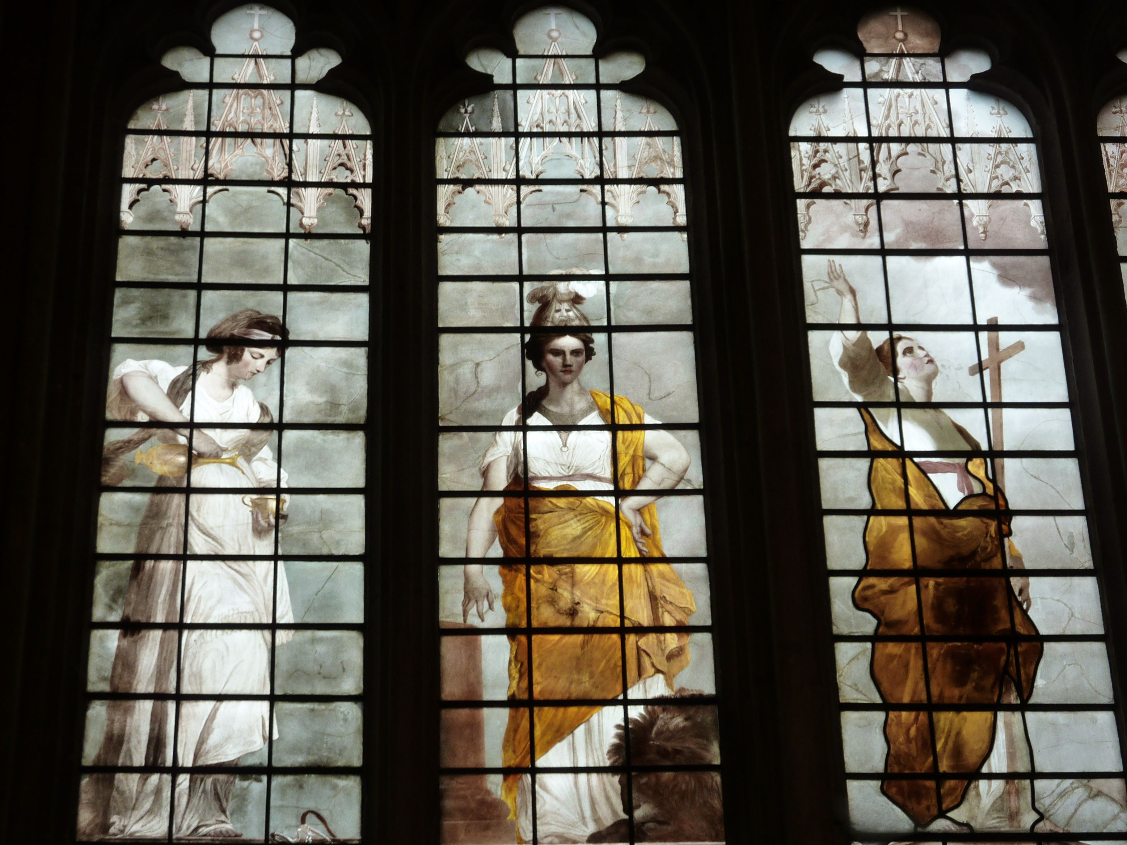 Image result for Joshua reynolds New College Oxford Window West images,
