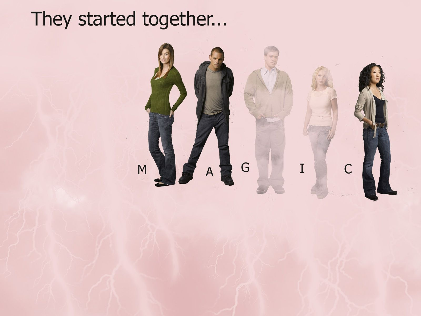 By the end of Season 10, it'll only be Grey. Greys