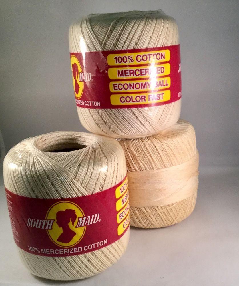Details About Coats Crochet D54 429 South Maid Crochet Cotton Thread