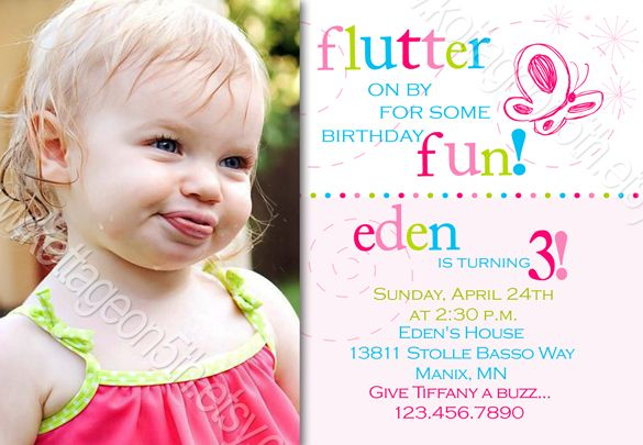 Flutter by butterfly printable birthday invitation invitation flutter by butterfly printable birthday invitation invitation birthday party any age stopboris Gallery