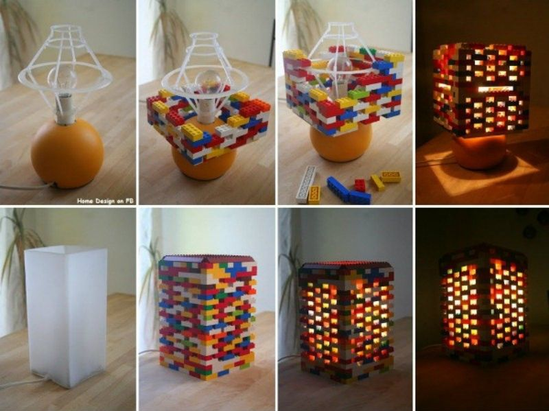 lego lampe zum selber bauen geschenke pinterest lego lampe lego und lampen. Black Bedroom Furniture Sets. Home Design Ideas