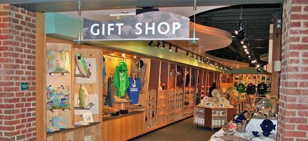 The maritime aquarium gift shop aquarium gift shops for Aquarium shop