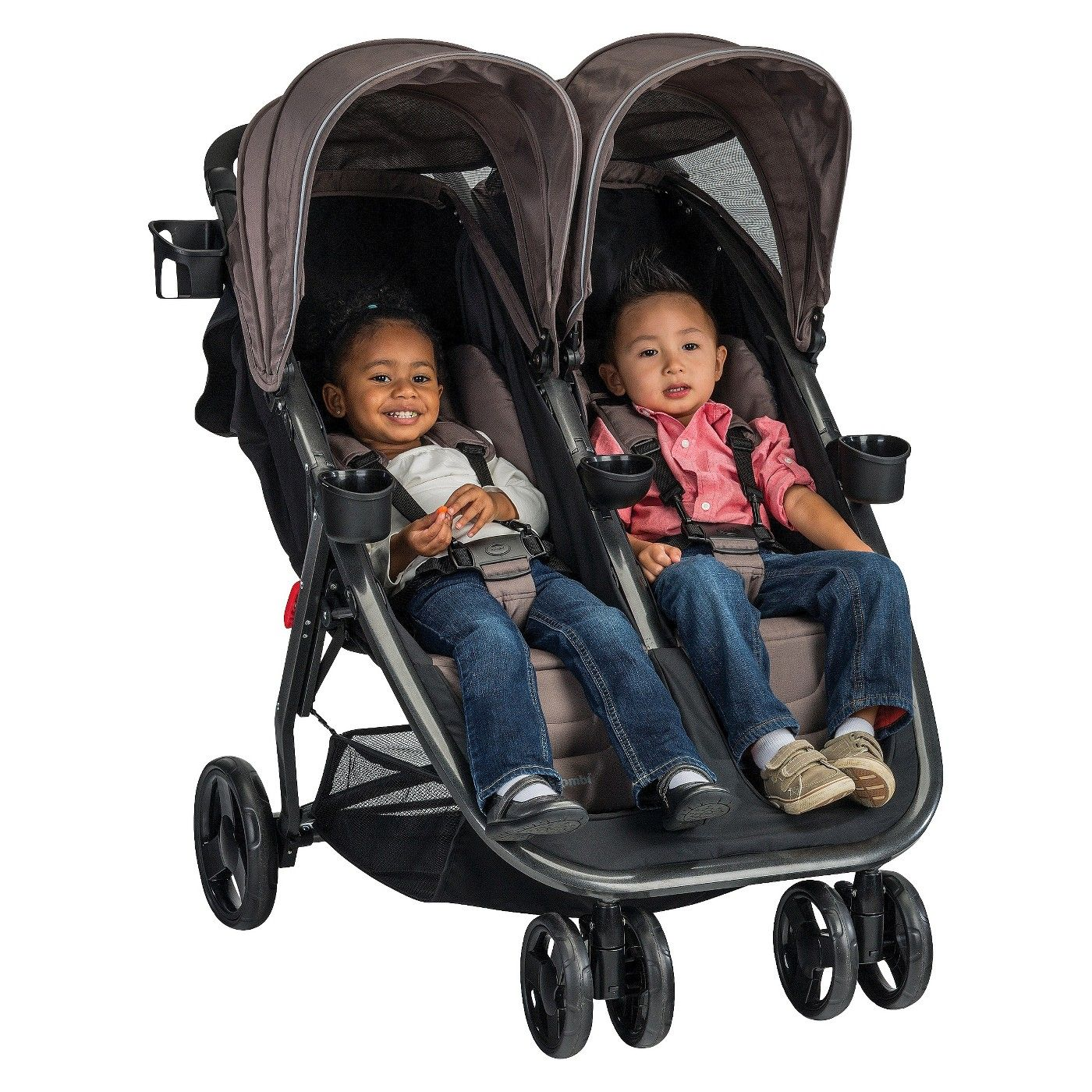 Combi fold n go double stroller image 4 of 4 with