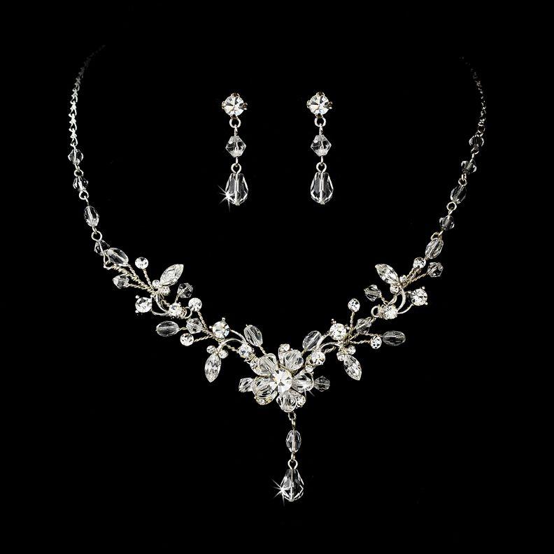 Swarovski Crystal Wedding Jewelry Sets Inspirational Styles On Design Ideas
