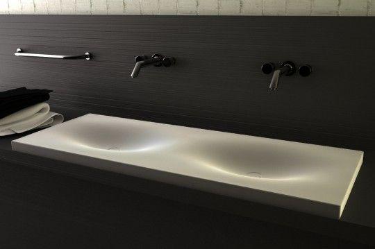 Vasques en corian design Vaskeo | staron | Evier salle de bain ...