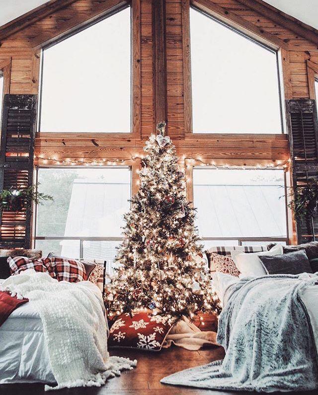Christmas image by Dominika Kiselova Cabin christmas