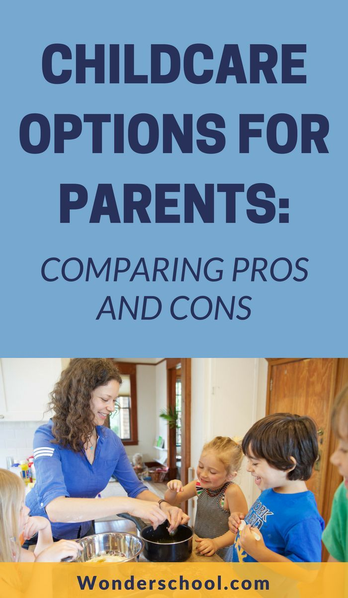 childcare options for parents comparing pros and cons childcare rh pinterest com RN Patient Care Guide Health Care Guide