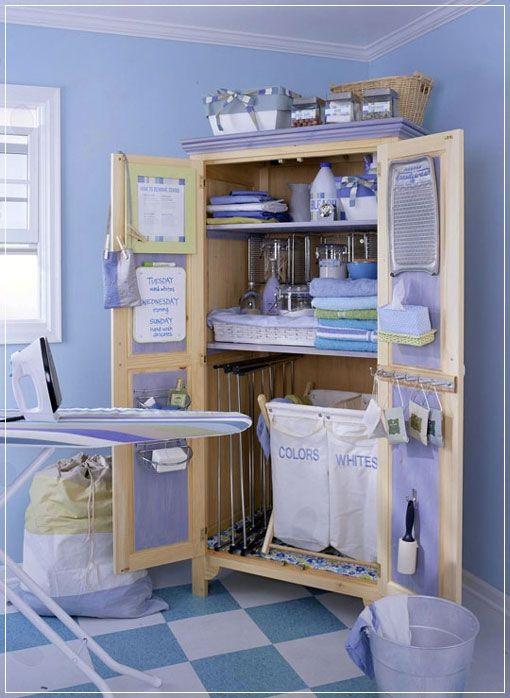 Ideas para el cuarto de planchado planchas lavander a y - Cuartos de colada y plancha ...