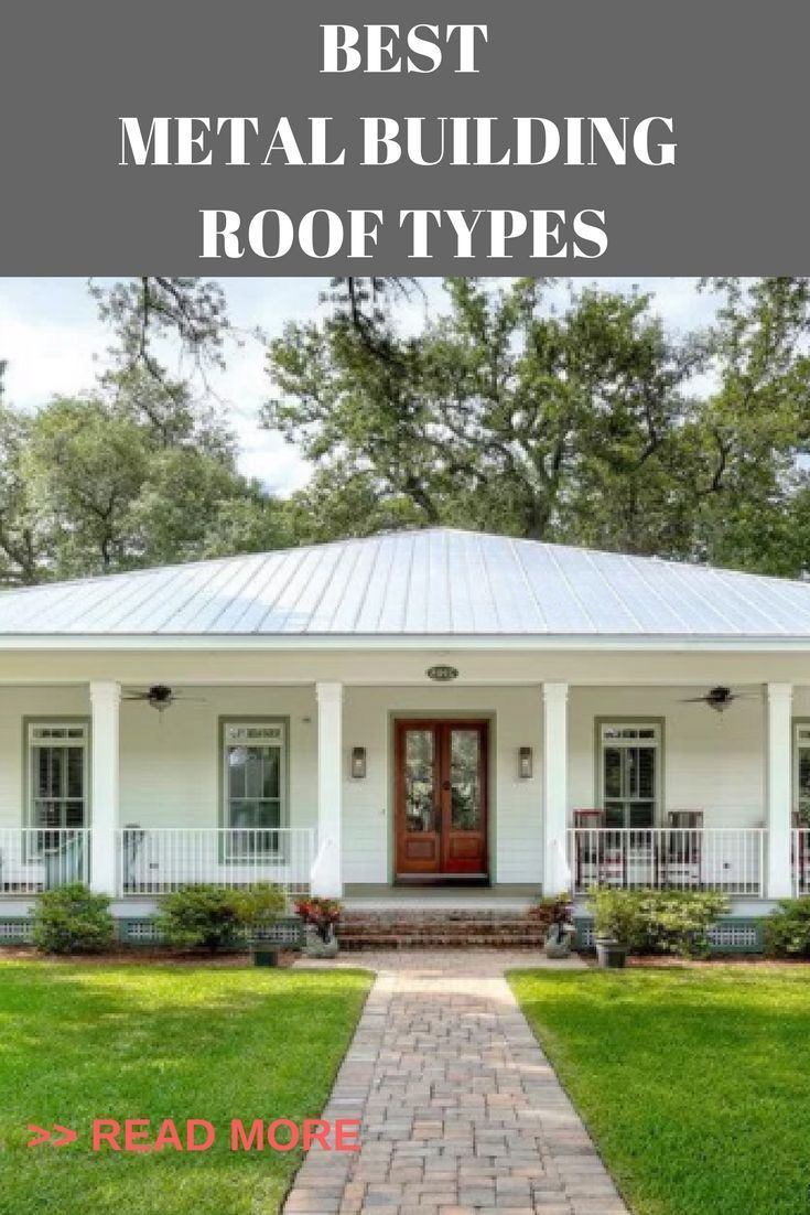 Roofing metal building roof types roofs roof