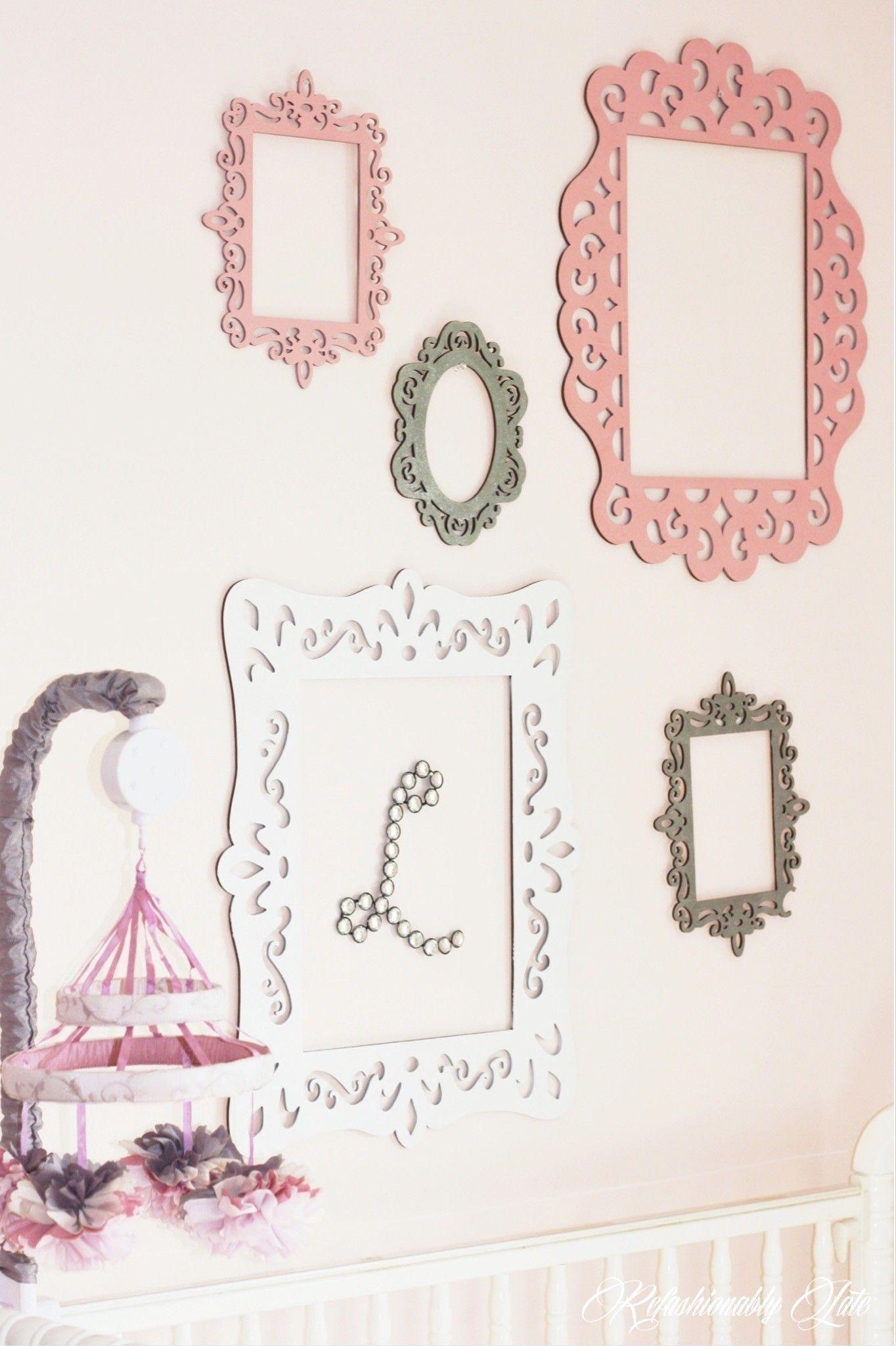 Lucy\'s Nursery   Gallery wall, Nursery and Tutorials