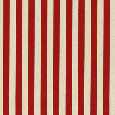 Rustical Stripes 1 - Baumwolle - Polyester - karminrot. stoffe.de