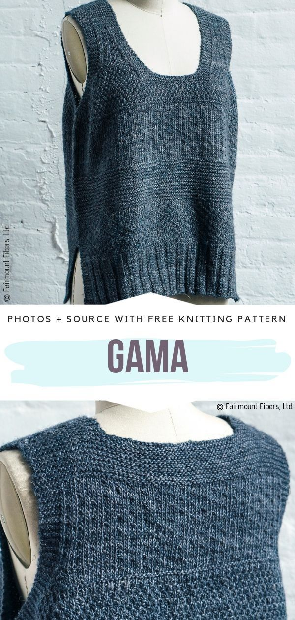 Loose Summer Tops Free Knitting Patterns - Summer Knitting