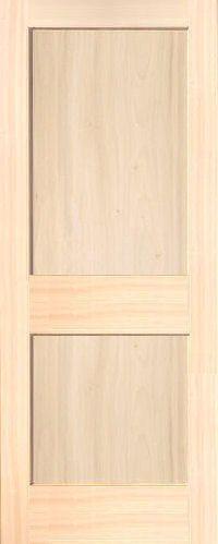 Flat Panel Interior Door Poplar Mission 2 Wood Doors Homestead