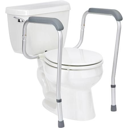 Handicap Toilet Rails  DisabledBathroomSafety    See more accessible living  tips at http. Handicap Toilet Rails  DisabledBathroomSafety    See more