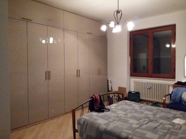 Ikea Pax hacks. Ho creato un armadio per un'altezza di 300 ...