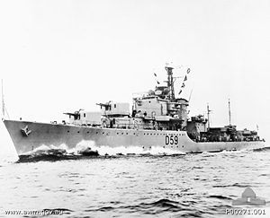 Royal Australian Navy Hmas Anzac D59 Was A 379 Royal Australian Navy Battle Class Destroyer Commissioned Royal Australian Navy Naval History Anzac