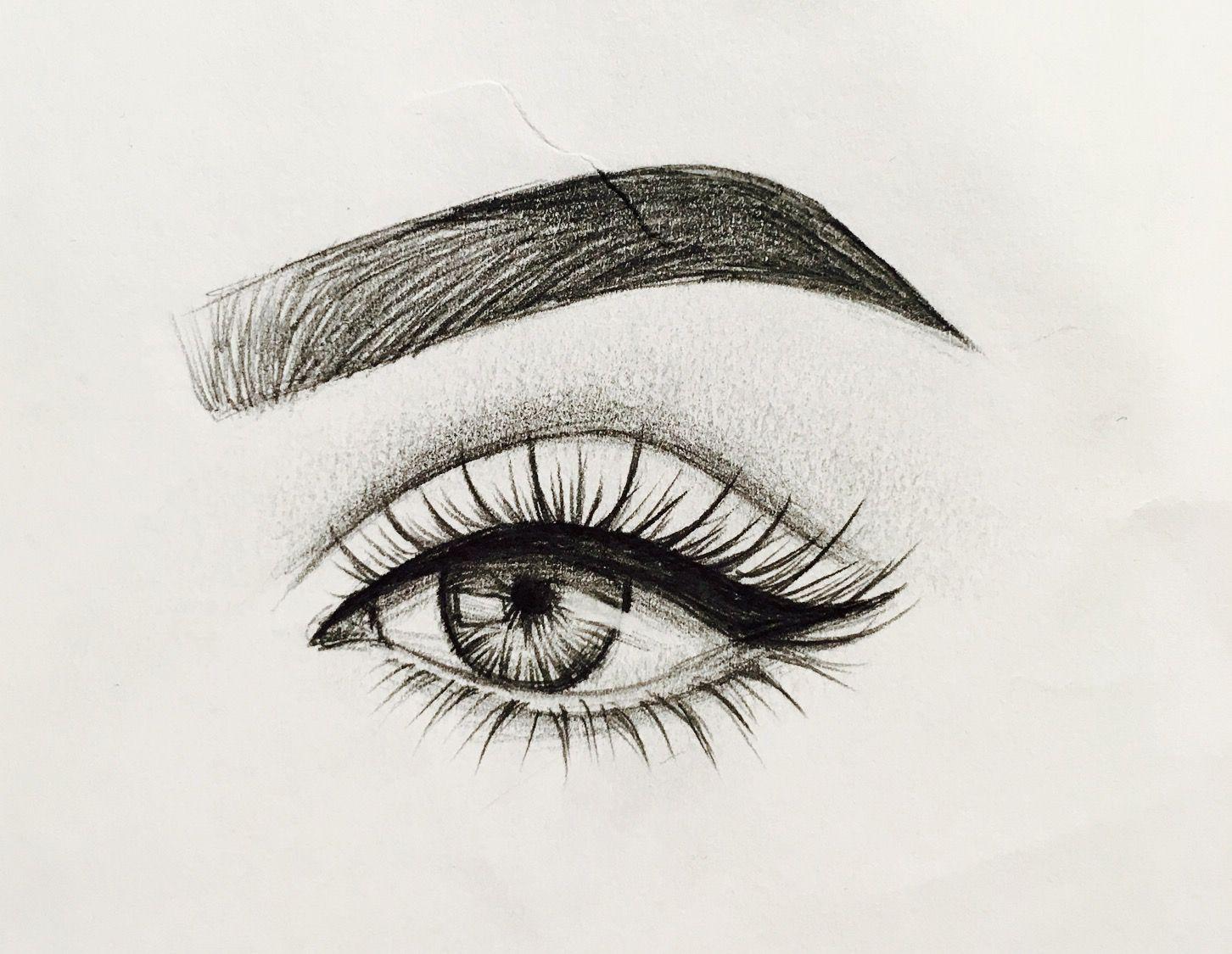 Idea by Emmie 🤷 on drawings ideas Art sketches, Eye