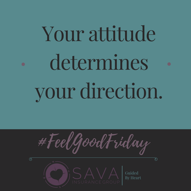 Your Attitude Determines Your Direction Feel Good Friday Feel
