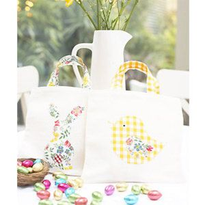 how to sew fabric bags for easter egg hunt craft ideas for easter