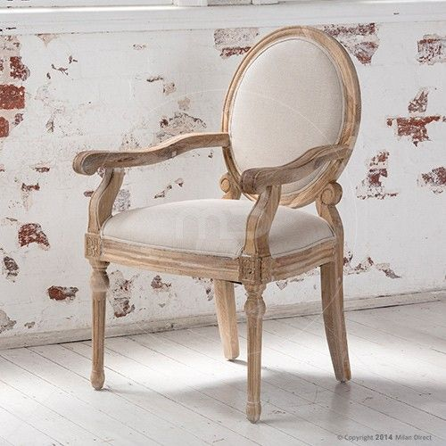 Maxime Dining Chair With Arms French Provincial Furniture